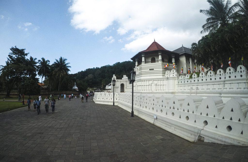Temple of Sacred Tooth Relic - Kandy, Sri Lanka - WanderlustGary.com