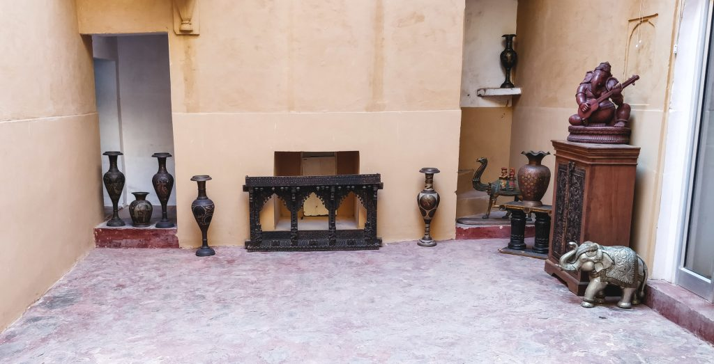 Relics at Amer Fort, Jaipur