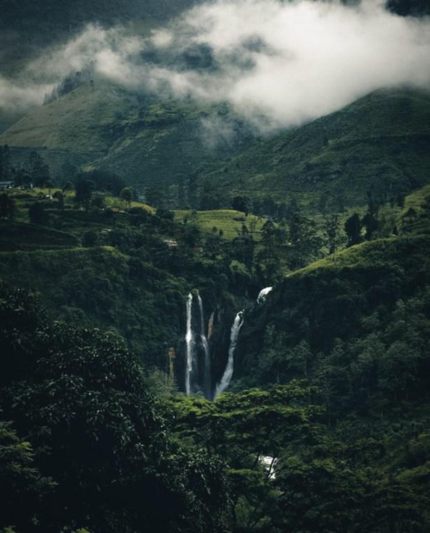Waterfalls Enroute Ella