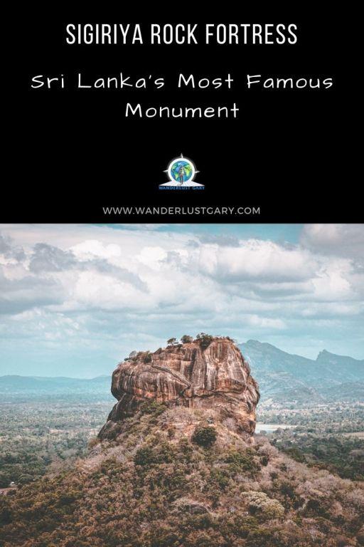 Sigiriya Lion Fortress - Wanderlustgary.com