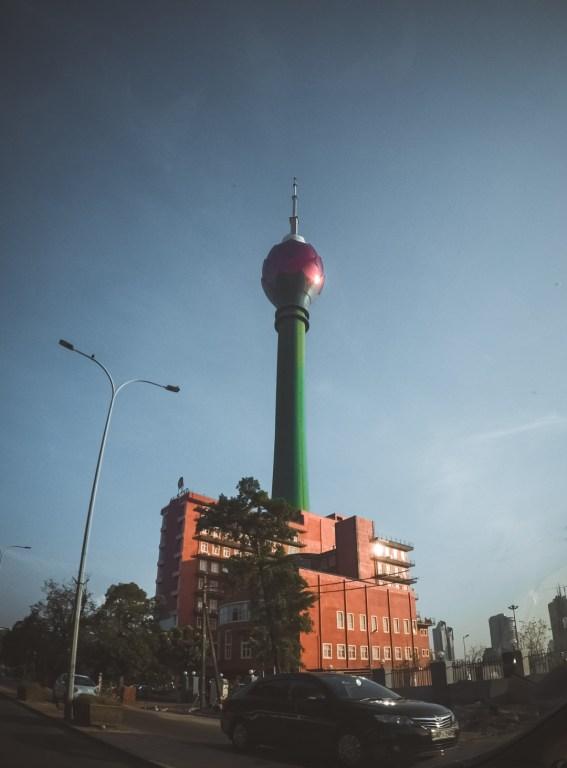 The Lotus Tower - Colombo , Wanderlustgary.com