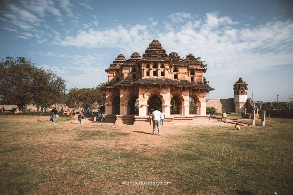 Lotus Mahal- Best place to Visit in Hampi