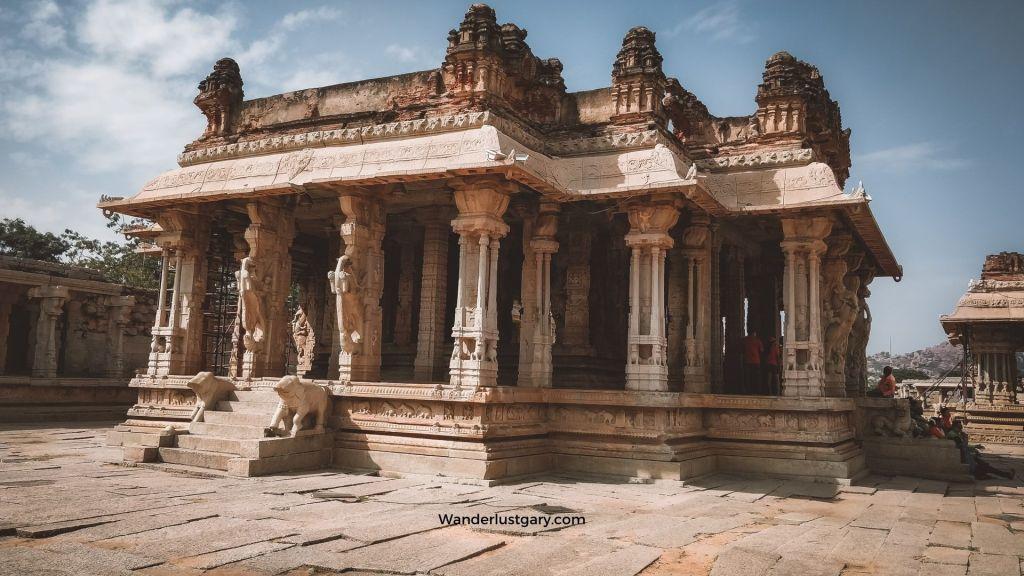 Vittala Temple, Hampi - Wanderlustgary.com