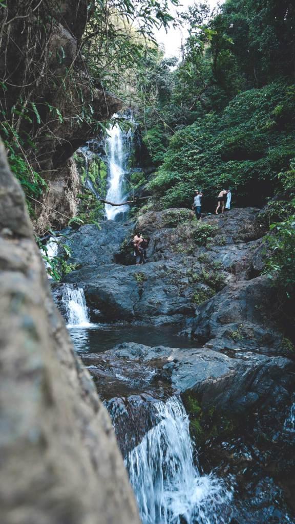 Vibhuti falls in North kannadiga