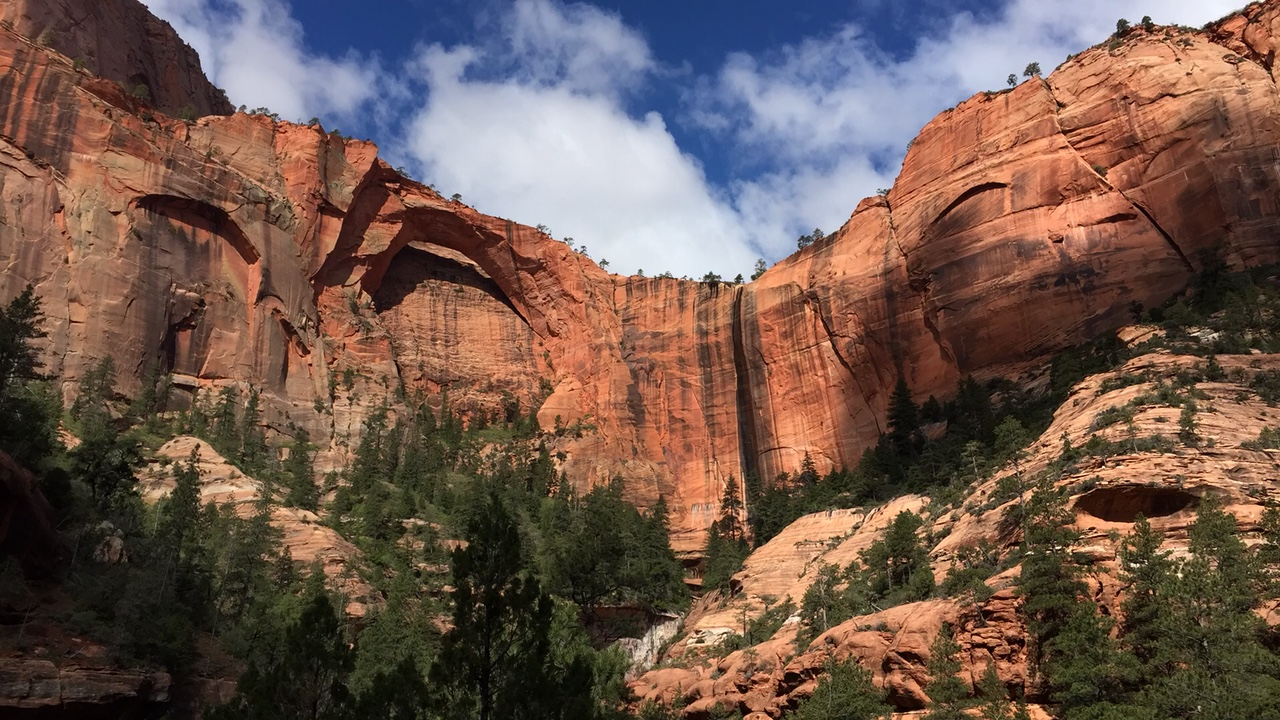 Backpacking Through Zion National Park, Utah