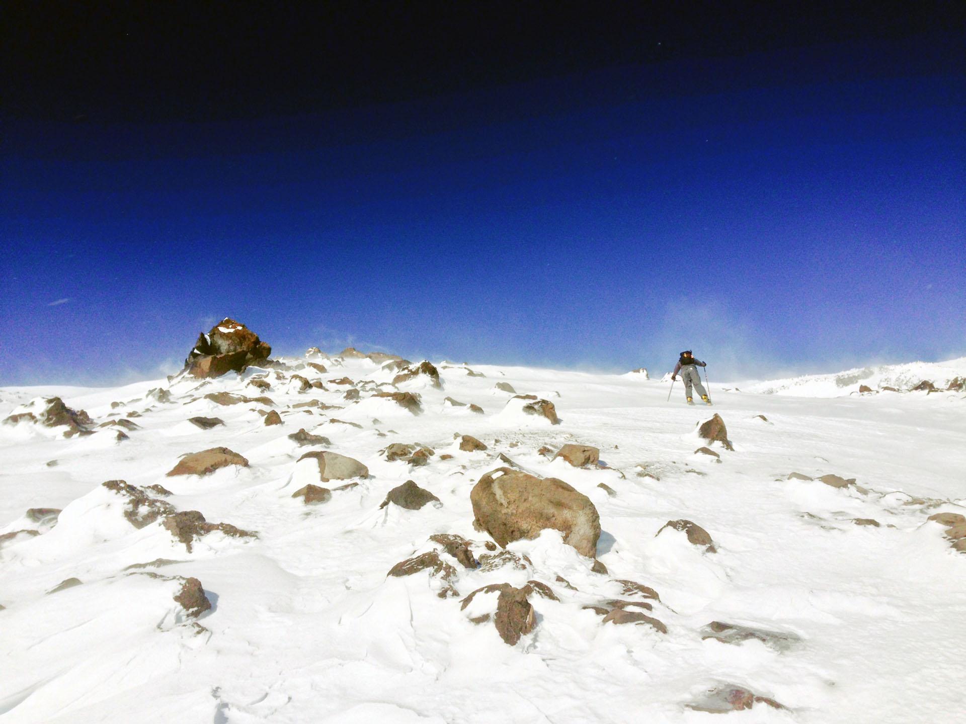 Wormflows Route - Mt. St. Helens - Dec 2014