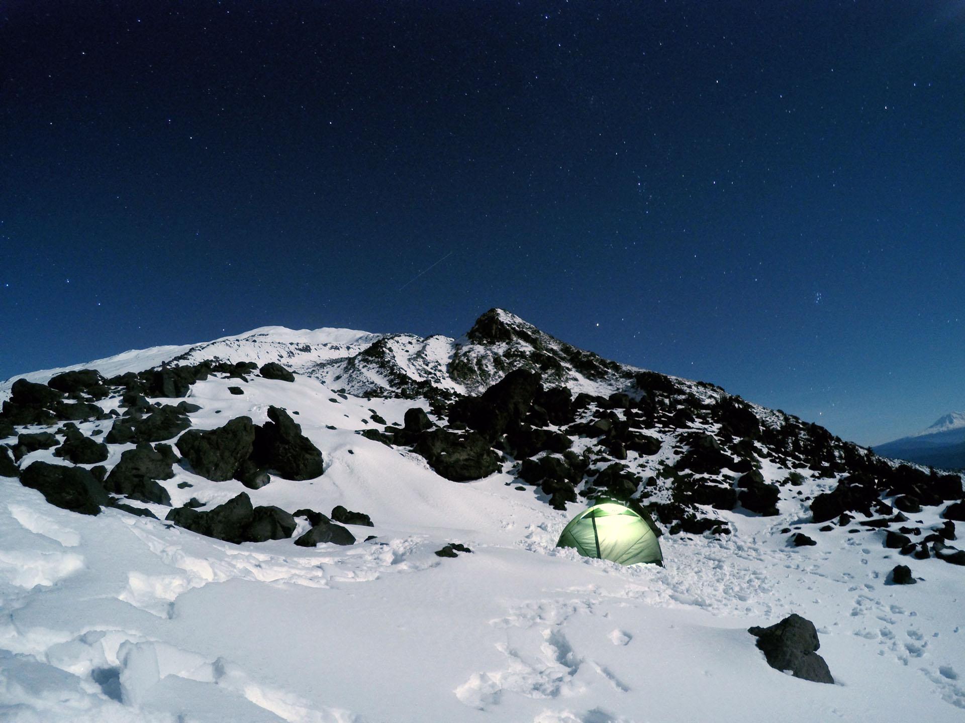 Monitor Ridge - Mt. St. Helens - Nov 2015