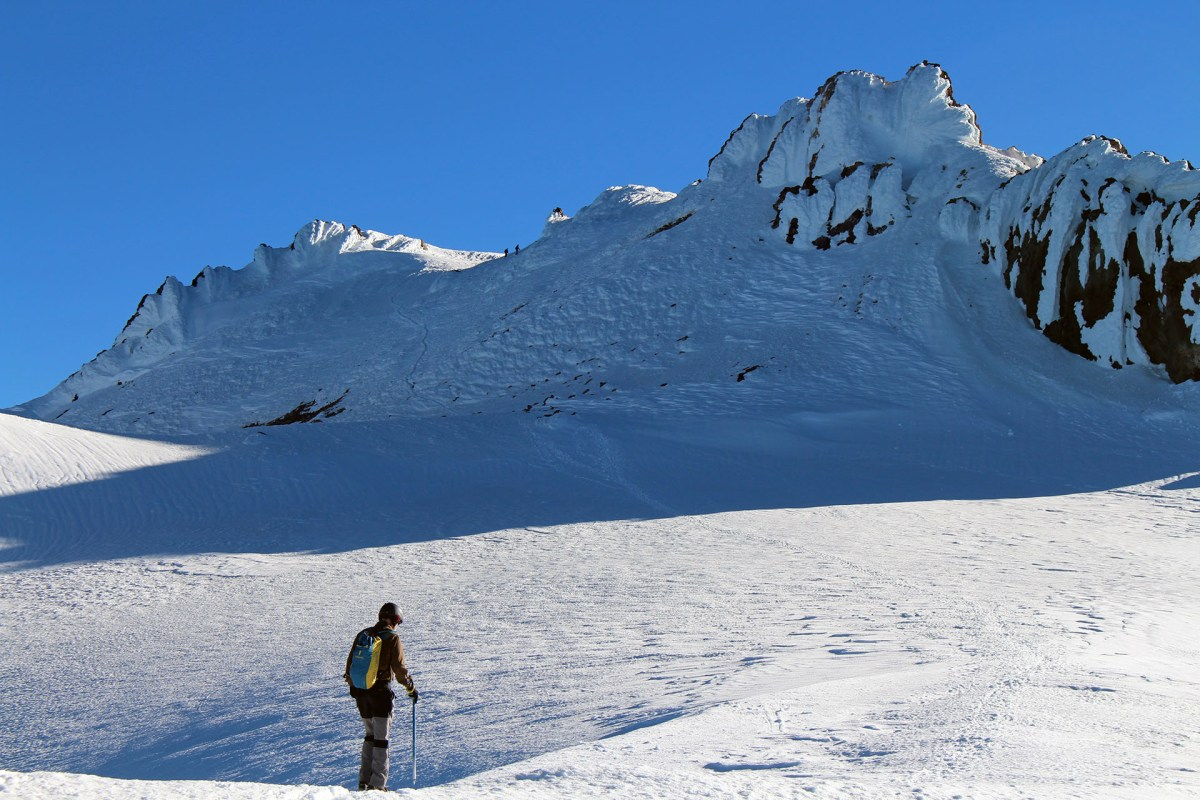 Mt Shasta summit within view - June 2017