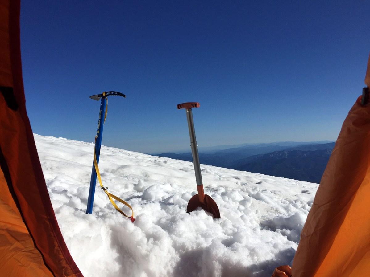 50/50 camp - Mt. Shasta - June 2016