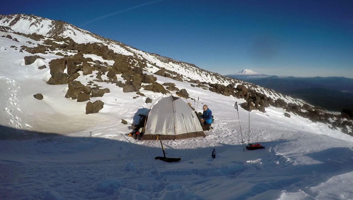 Camp - Mt. St. Helens - Dec 2017