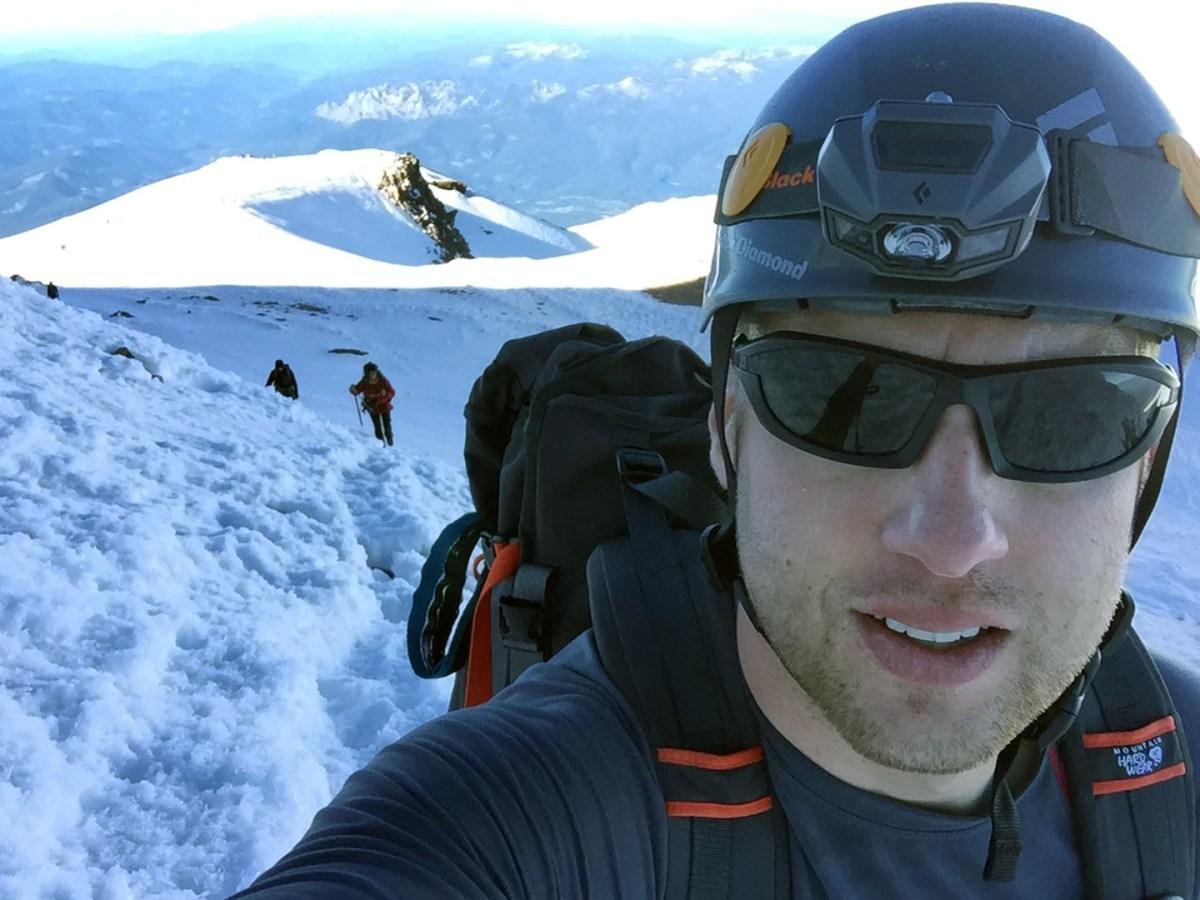 Nearing the summit - Mt. Shasta - June 2017