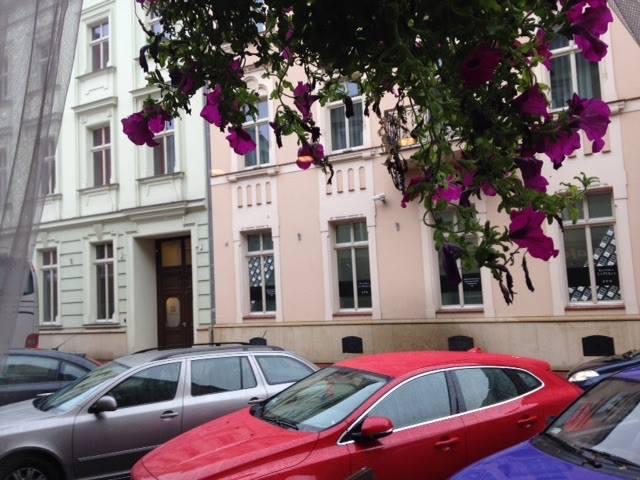 Sunday in the Rain in Kraków.
