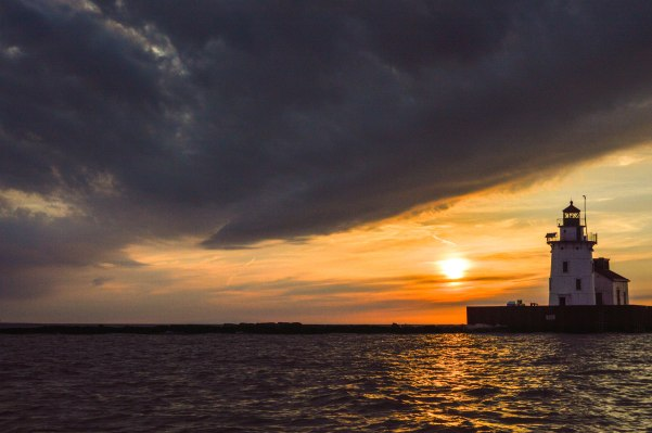 whiskey island best spots to watch sunset cleveland