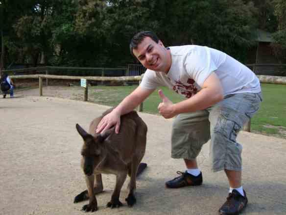 Hanging with Aussie animals