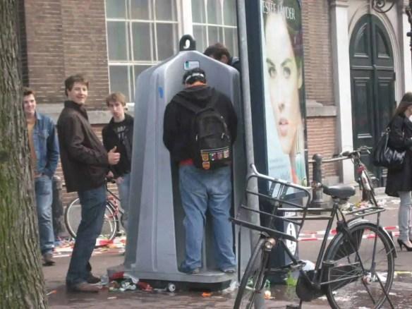 outdoor urinals