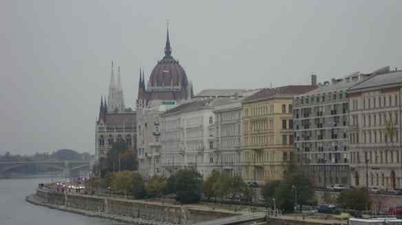 View of Budapest Parliament from the Pest side