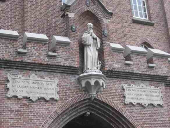 Entrance to the de Koningshoeven Trappist abbey of La Trappe, the La Trappe brewery
