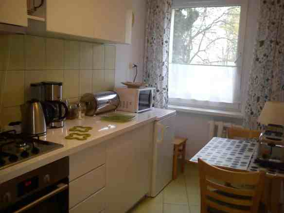 Kitchen in Debniki area of Krakow, Tips on Areas to Stay in Krakow