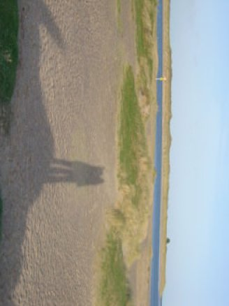 Malahide beach, day trips from Dublin