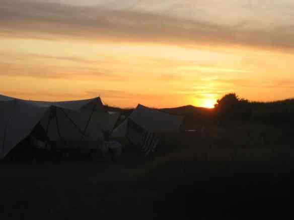 Sunset on Texel
