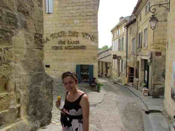 day trip from bordeaux, passion fruit sorbet