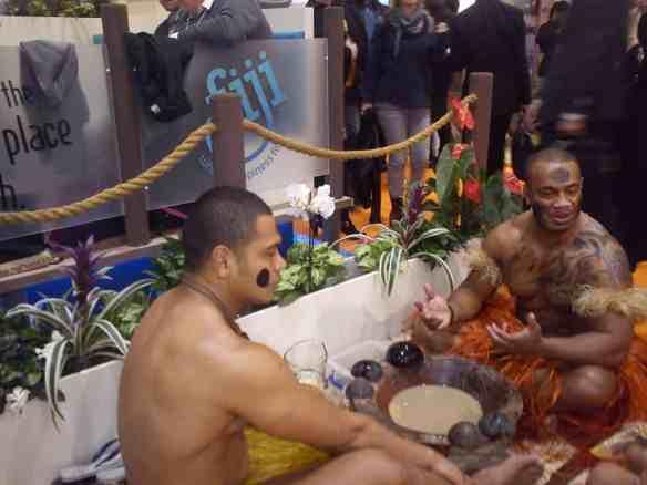Fiji at World Travel Market in London