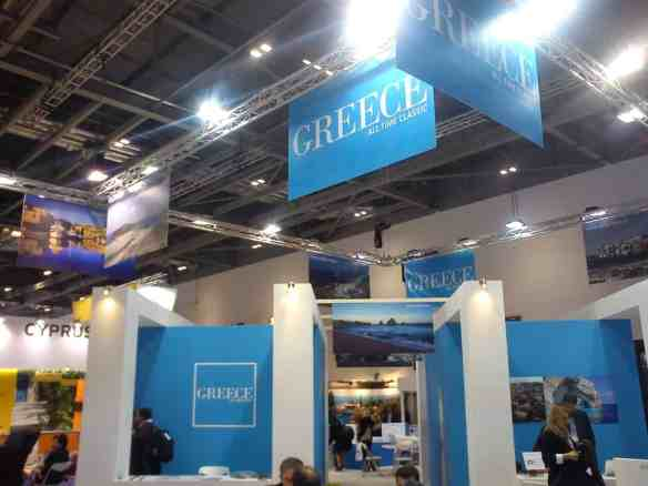 Greece, All Time Classic, at World Travel Market in London