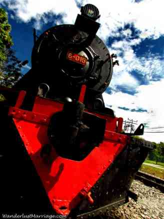 Vulcan Steam train