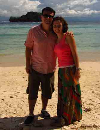 Manukan Island - adventurous borneo honeymoon