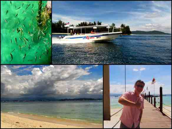 Tunku Abdul Rahman Marine National Park, adventurous Borneo honeymoon