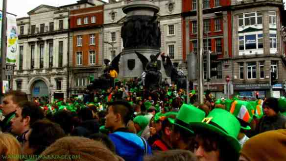 O'Connell St, Dublin St Paddy