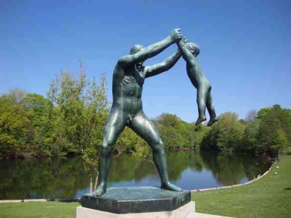 penis statue in Oslo park