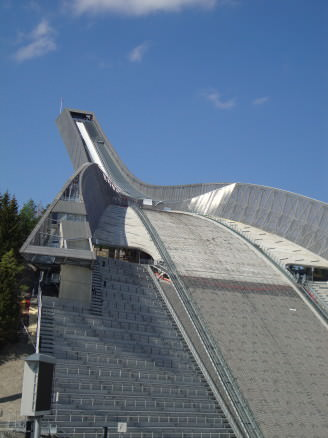 Holmenkollen ski jumping venue, Oslo