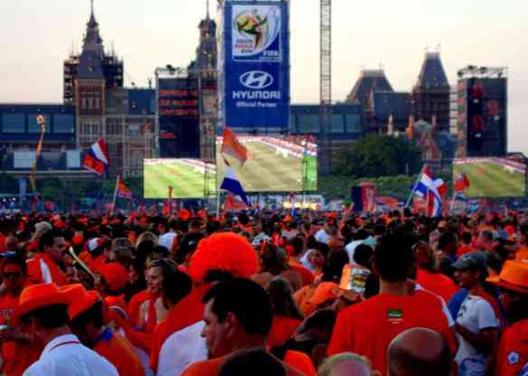 Netherlands 2010 World Cup Viewing