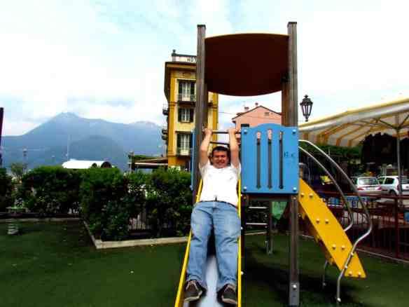 Lake Como playground