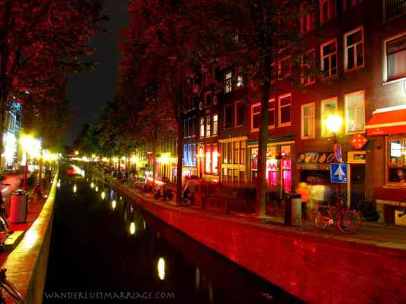 Canal in the Redlight district