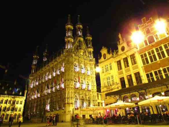 Leuven Cathedral at Night