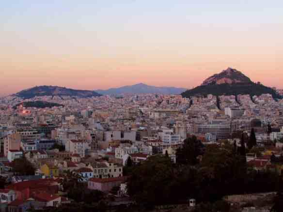 Athens Sunset Lycebettus