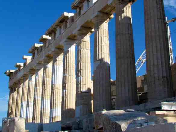 Parthenon restoration 2014