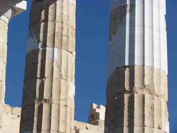 Parthenon Columns 2014