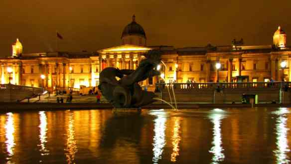 London's impressive National Portrait Gallery.