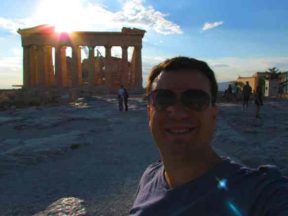 Parthenon- Selfie with sun