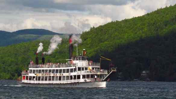 Beautiful Lake George, New York in the Adirondack Mountains.