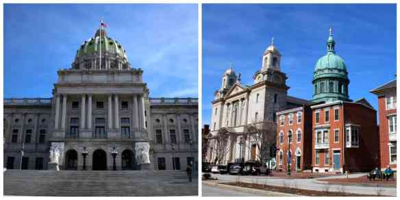 Harrisburg, the capital of Pennsylvania.