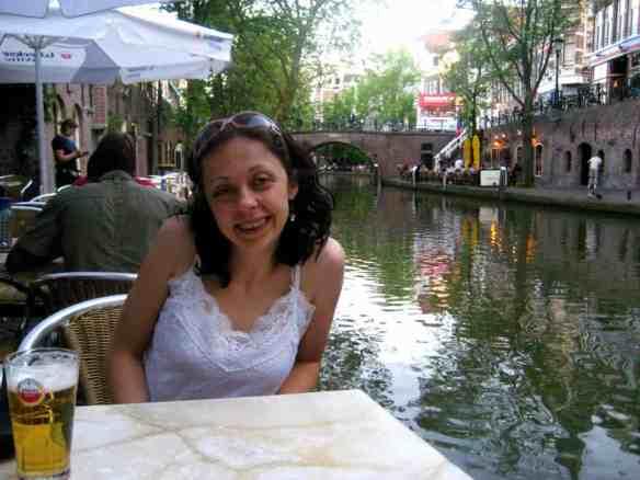 Utrecht Netherlands Canal Drink