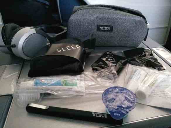 Delta Business Elite Toiletry Welcome Bag, First Class