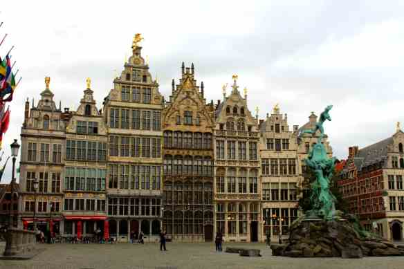 Antwerp Grand Place, Belgium