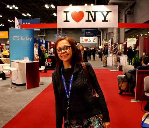 Bell on the trade floor NYT travel show