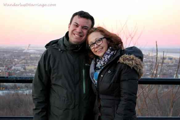 Mount Royal sunset, Romantic Getaway Montreal