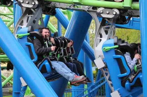 Goliath super coaster, Six Flags New England